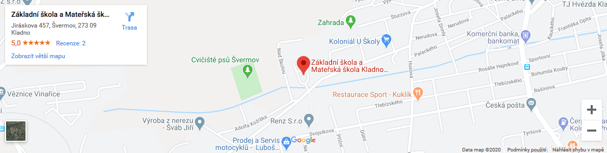 ZŠ Jiráskova on Google maps